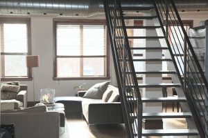 Appartement moderne style loft