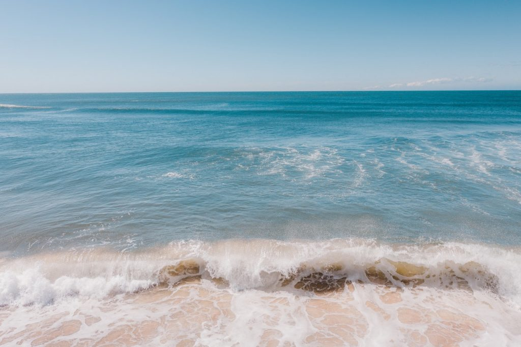 Eau de mer, salée, vague
