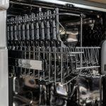 Lave vaisselle ouvert